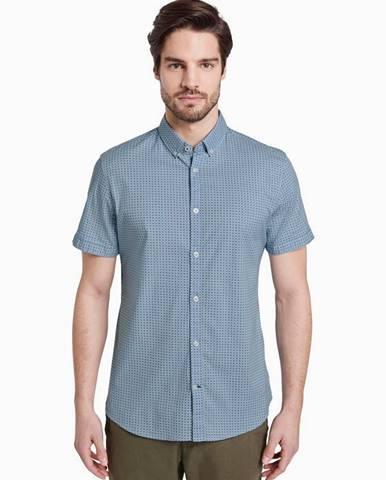 Modrá košeľa Tom Tailor