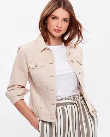 Béžová bunda M&Co Petite