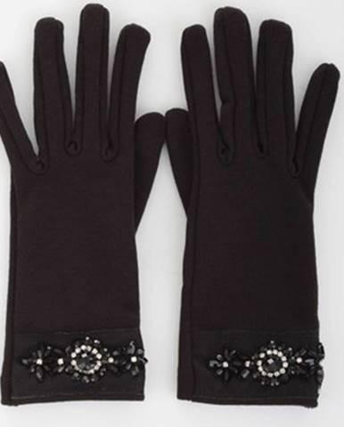Čierne rukavice Relish