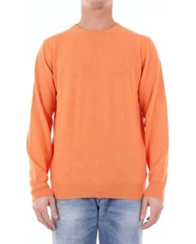 Oranžový sveter Della Ciana