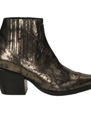 Hnedé topánky Mya Clara