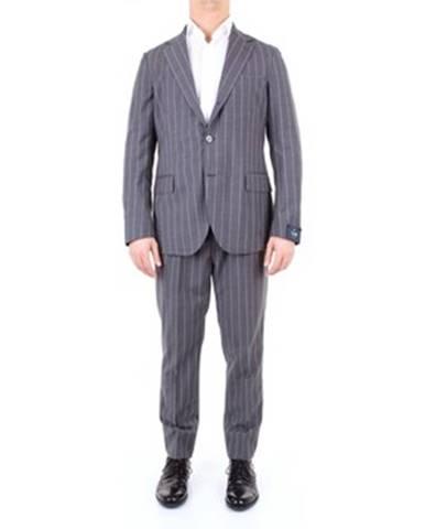 Viacfarebný oblek Tombolini