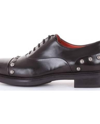 Čierne topánky Santoni