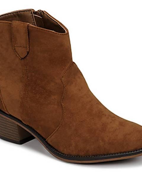 Hnedé topánky Moony Mood