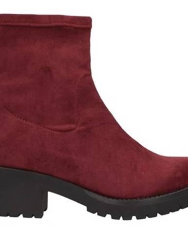 Červené topánky Docksteps