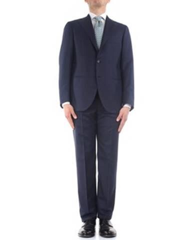 Modrý oblek Cesare Attolini