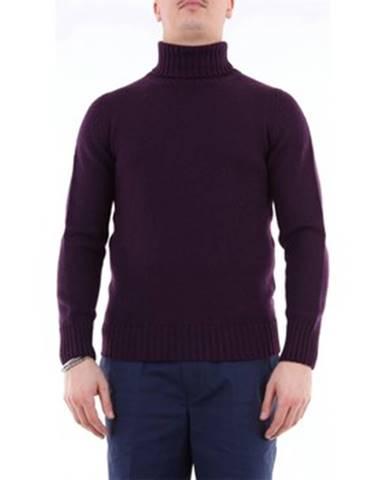 Fialový sveter Drumohr