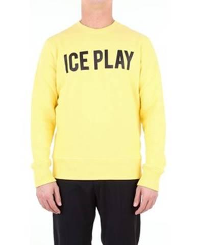 Žltá mikina Ice