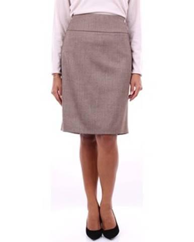Béžová sukňa Peserico
