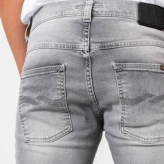 Nudie Jeans Grim Tim Jeans Light Grey Trashed