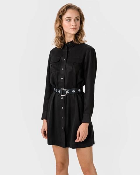 Čierna sukňa Calvin Klein