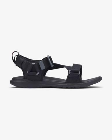 Čierne sandále Columbia