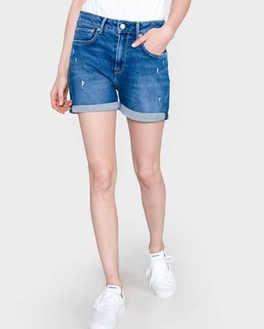 Modré kraťasy Pepe jeans