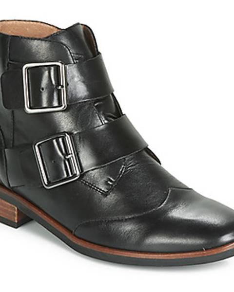 Čierne topánky Karston
