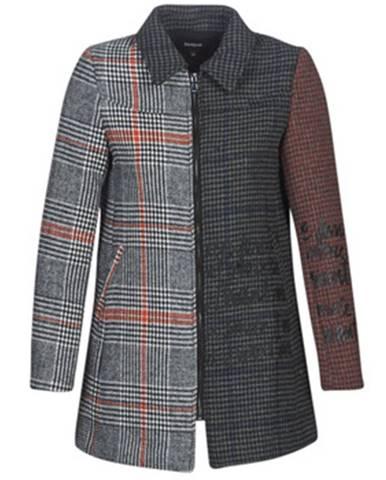 Viacfarebný kabát Desigual