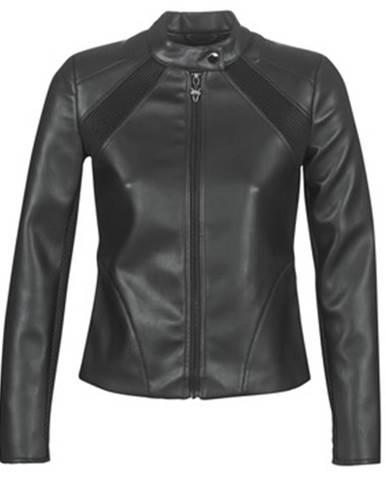 Čierna bunda Guess