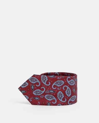 Vínová kravata Selected Homme