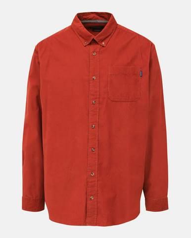 Oranžová košeľa Jack & Jones
