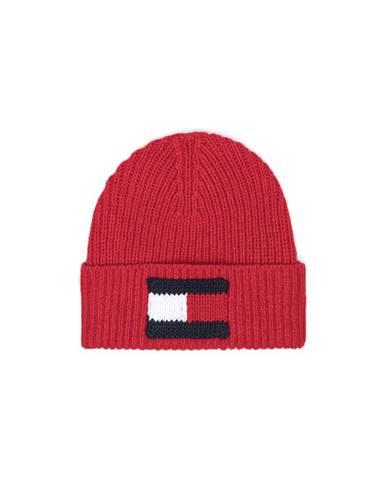 Červená čiapka Tommy Hilfiger