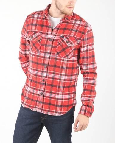 Červená košeľa Superdry