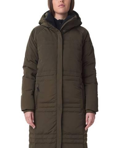 Zelený kabát Columbia