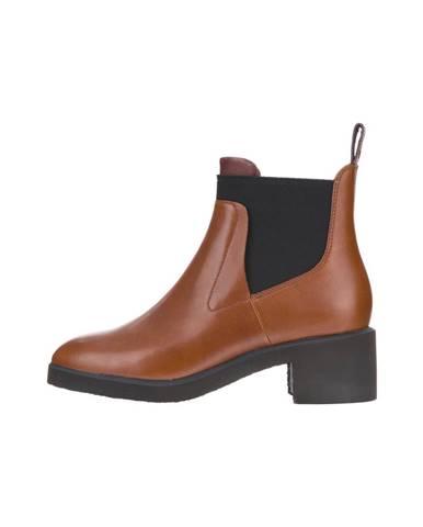 Hnedé členková obuv Camper