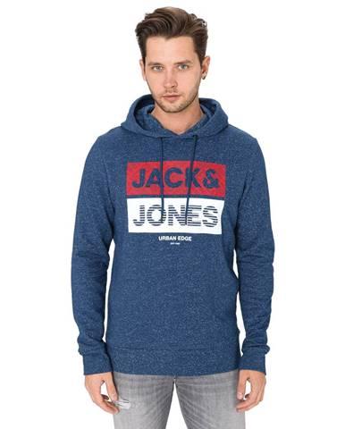 Modrá bunda s kapucňou Jack & Jones