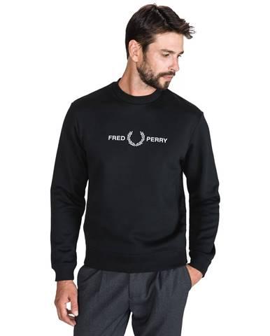 Čierna bunda bez kapucne Fred Perry