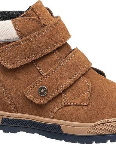Béžové členková obuv Bartek
