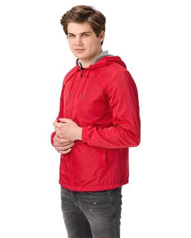 Červená bunda Trussardi Jeans