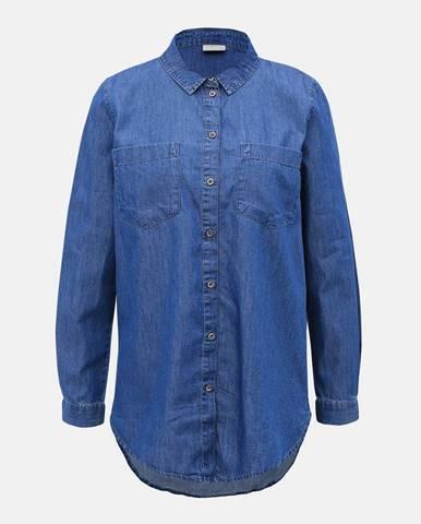 Modrá košeľa Jacqueline de Yong