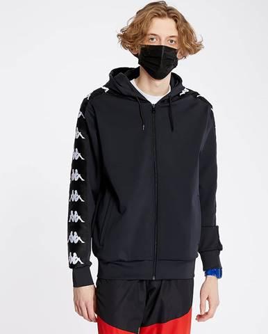Čierna bunda Kappa
