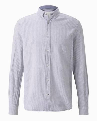 Svetlosivá košeľa Tom Tailor