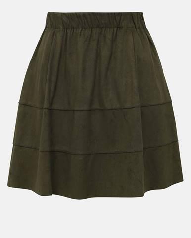 Kaki sukňa Noisy May