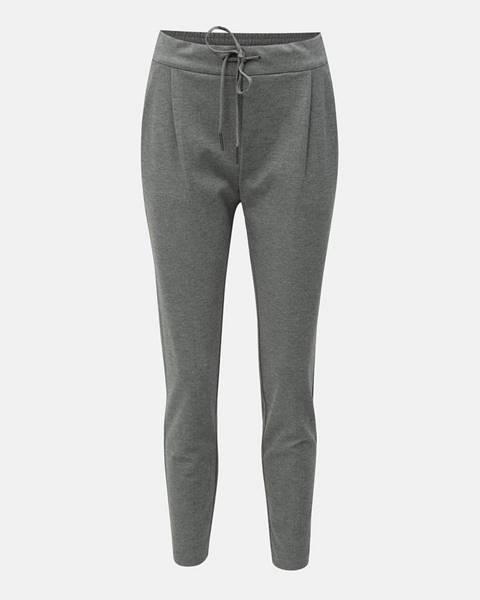 Sivé nohavice Vero Moda