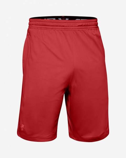 Under Armour  Kraťasy  Mk1 Shorts-Red Červená