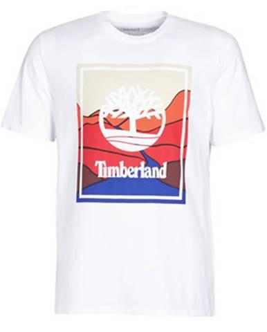 Biele tričko Timberland
