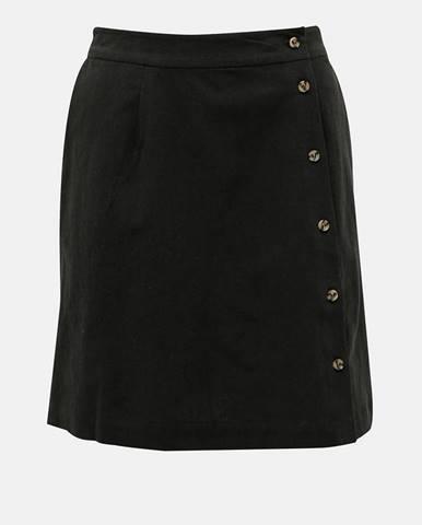 Čierna sukňa Selected Femme