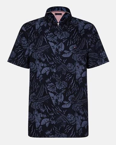Tmavomodrá košeľa Tommy Hilfiger