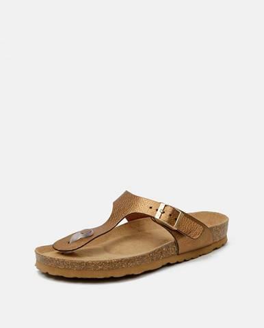 Hnedé papuče OJJU