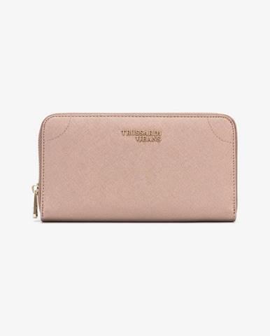 Zlatá peňaženka Trussardi Jeans