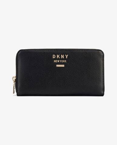 Čierna peňaženka DKNY