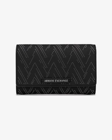 Čierna peňaženka Armani Exchange