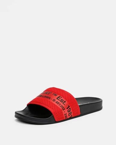 Červené sandále Replay