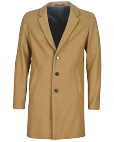 Béžový kabát Jack   Jones