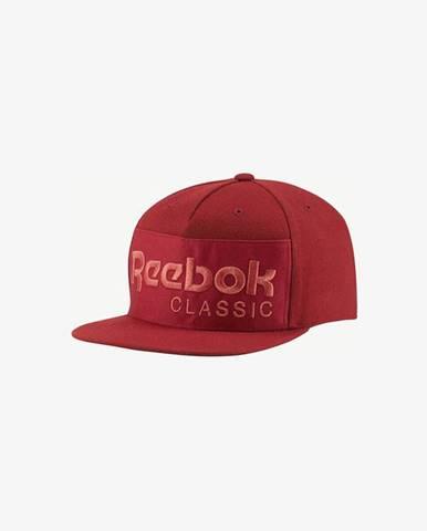 Červená čiapka Reebok Classic